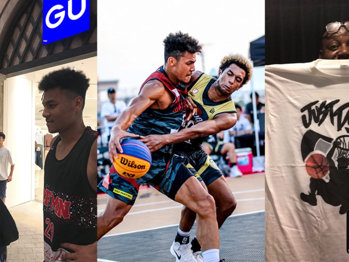 ビルの息子プロバスケット選手 アレックス百音ホールのTシャツデザイン